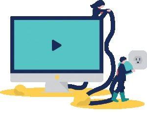 الإعلانات التلفزيونية